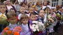 Видеосъёмка 1-го сентября в школе - гимназия им. Пушкина - Йошкар-Ола