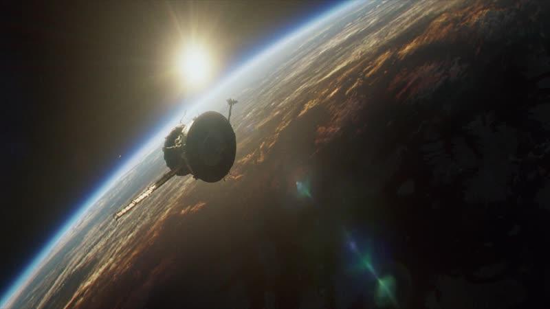 Эпизод из фильма Гравитация часть 8 (Последние обитатель орбиты)