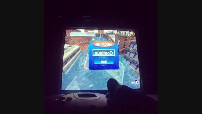 Играю на Sega Dreamcast