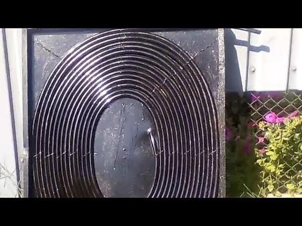 8-мь типов (и их КПД) этих солнечных нагревателей