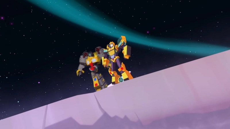 Transformers Cyberverse - Entering Stasis [New Clip]
