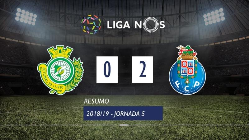 Лига НОШ 201819 (Тур 5) Витория Сетубал – Порту 02