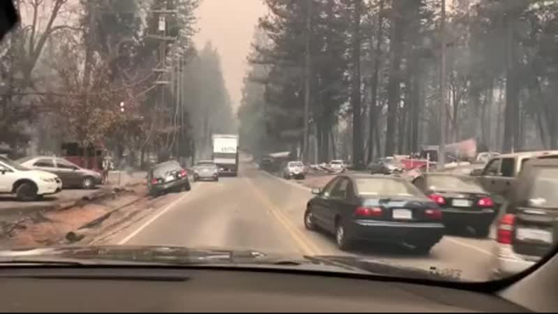 Последствия калифорнийских пожаров