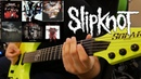 Slipknot Guitar Riff Evolution Self Titled to All Out Life Guitar Riff Compilation