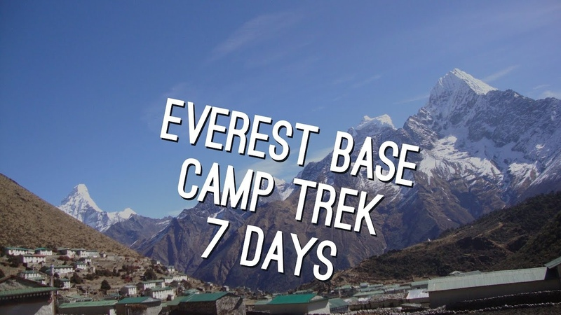 Cheapest way to do Everest base camp trek 7 days