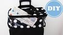 Boxbag als Koffertasche zum Aufsetzen nähen DIY IKEA Stoff