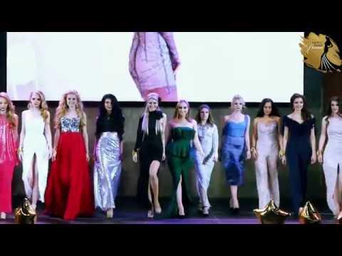 Выход финалисток Мисс Гламур России 2018 в дизайнерской одежде от IRINA A