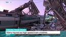 High speed train crashes Ankara