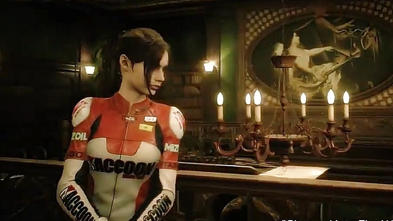 Raccoon City Elza Walker costume ラクーンシティ Claire 新衣装 Bio RE2 Gameplay footage Resident Evil 2