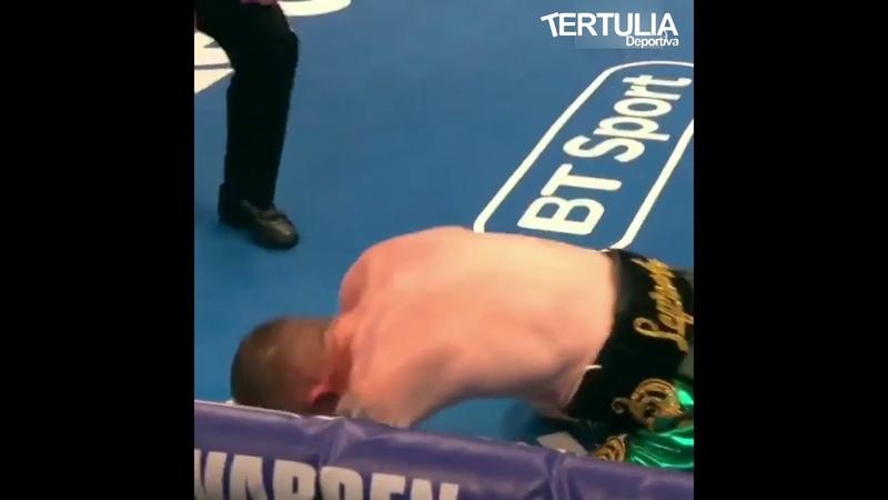 Así fue el KO de Cristofer Rosales ante Paddy Barnes