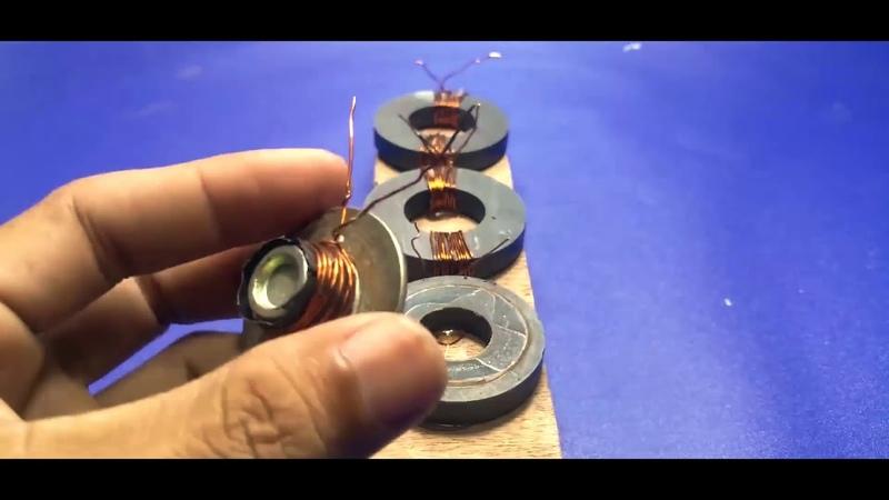 Бесплатное электричество из магнита Подключение энергосберегающих ламп при помощи магнитов