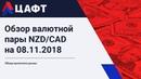 Обзор валютной пары NZD CAD на 08 11 2018