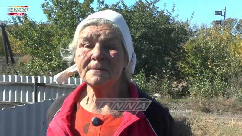 Окраина Горловки пос Доломитное каждый день под обстрелом ВСУ.
