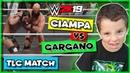 WWE 2K19 Ciampa vs Gargano BRUTAL WWE 2K19 TLC Match Gameplay