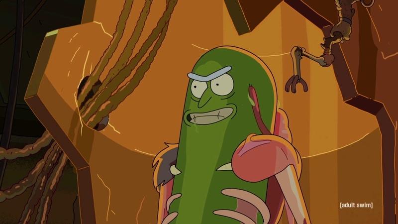 Pickle Rick - BFG Division