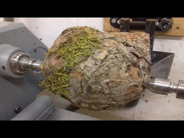 Woodturning A Natural Edge Burl Hollowform