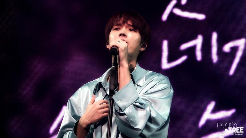 181102-04 NAMWOOHYUN 1st solo concert 식목일 - 지금 이노래 우현 4K FOCUS