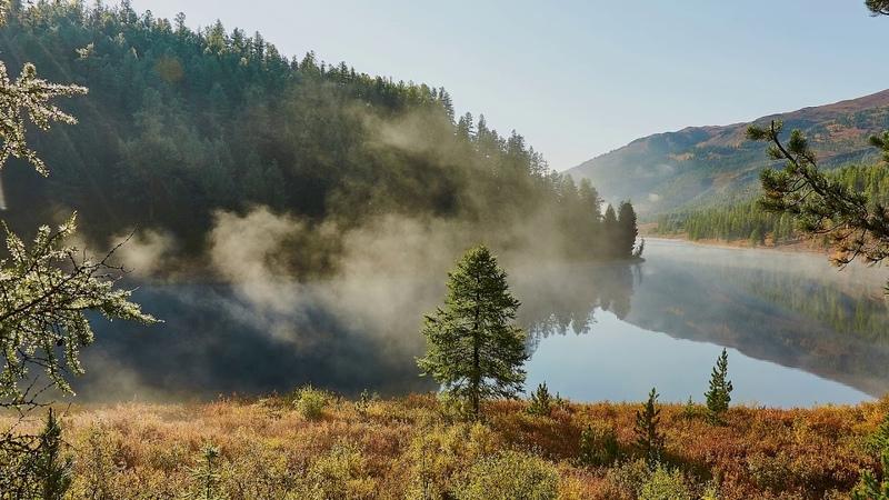 Горный Алтай озеро Кёк кёль
