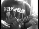 Lifelover-svart galla ukulele cover