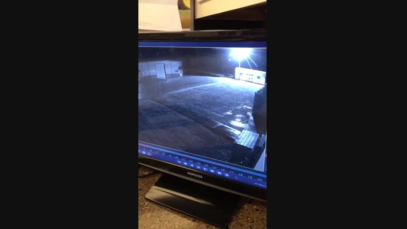 Salik.biz : Странная аномалия попала на камеру наблюдения