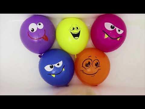 Воздушные шары Сборник 20 минут Учим цвета с шариками Песня про шарики Лопаем шарики Красный Шарик