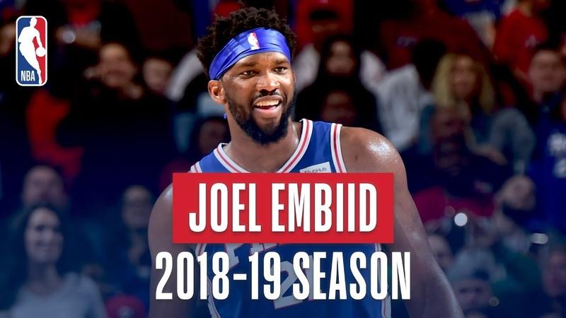 Joel Embiid's Best Plays From the 2018-19 NBA Regular Season