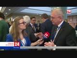 Чем живут наши соотечественники за рубежом Прямое включение корреспондента телеканала Крым 24 Анны Ничуговской