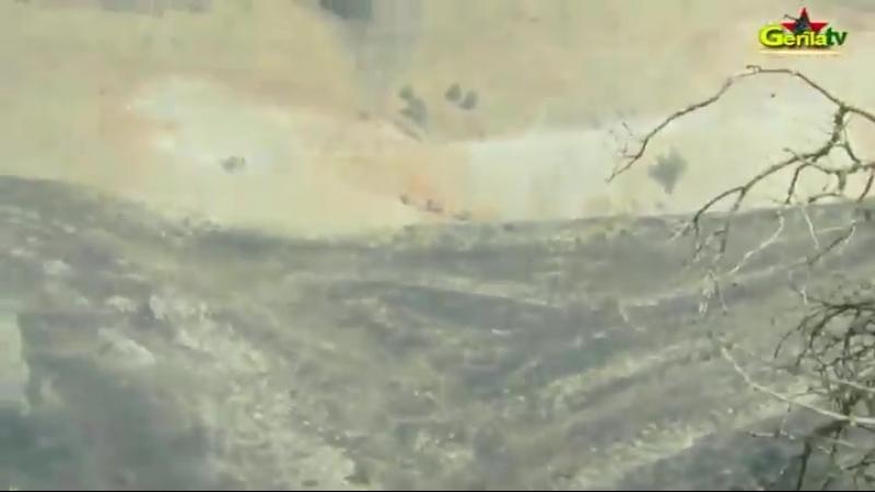 Партизаны на границе Турции и Ираком атаковали оккупантов.