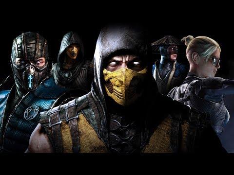 Mortal Kombat X Новичок рубит за ТАКЕДУ в MK X