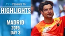 Ferrer Fairytale Continues Djokovic And Federer Ease Through   Madrid Open 2019 Highlights Day 3
