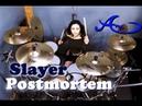 Slayer Postmortem drum cover by Ami Kim 38th