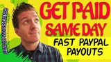 3 Sites That Pay PayPal Money Instantly