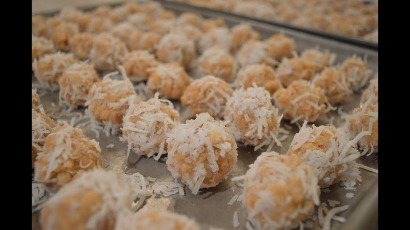 How to Make Peanut Butter Snowballs Cooking with Kimberly