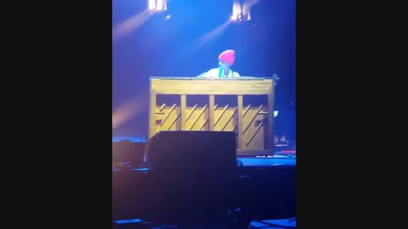 Beetle on piano