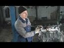 Снятие и разборка двигателя на Опель Вектра