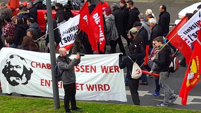 Демонстрация 1 Мая Германия Бохум