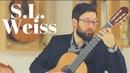 S.L. Weiss - Sonata No. 5 - Gigue played by Stefan Volpp on a 2018 Walter Verreydt