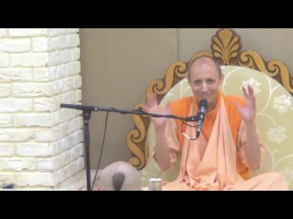 Лекция Ананты Кришны Госвами Махараджа на воскресной программе Бхакти Врикш 21 06 2015 г.