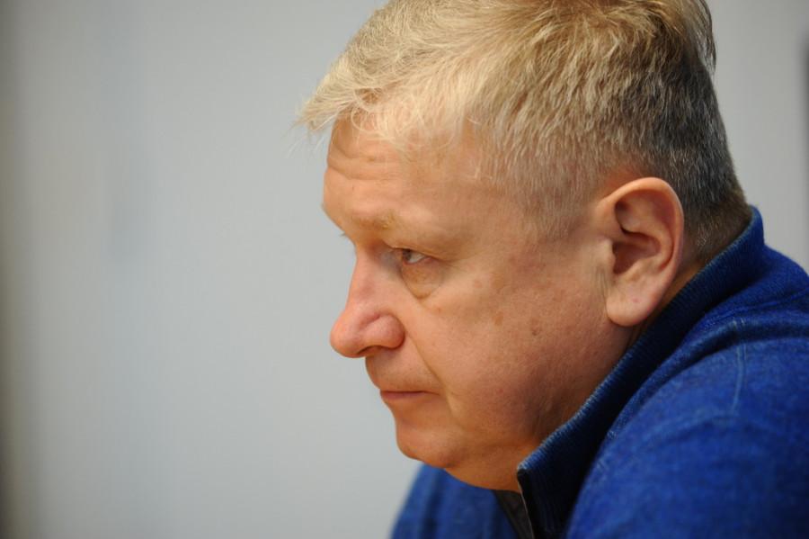 Юрий Шамков, президент Алтайской федерации гребли на байдарках и каноэ
