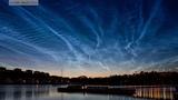 NASA Balloon Observes Rare Electric Blue Clouds