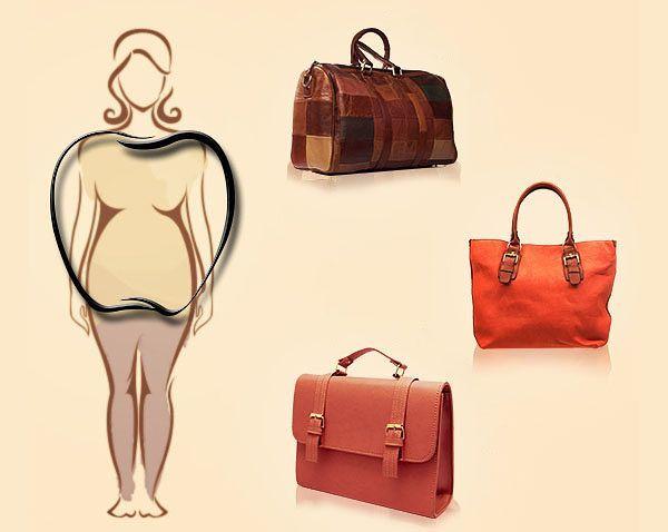 Как правильно выбрать сумку по типу фигуры