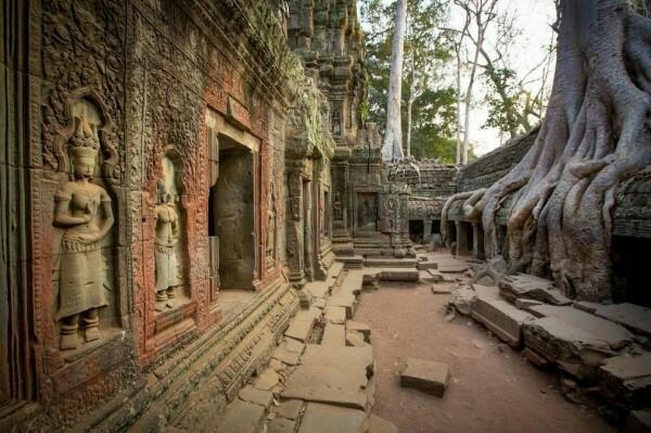 Древний затерянный город обнаружили в Камбоджи