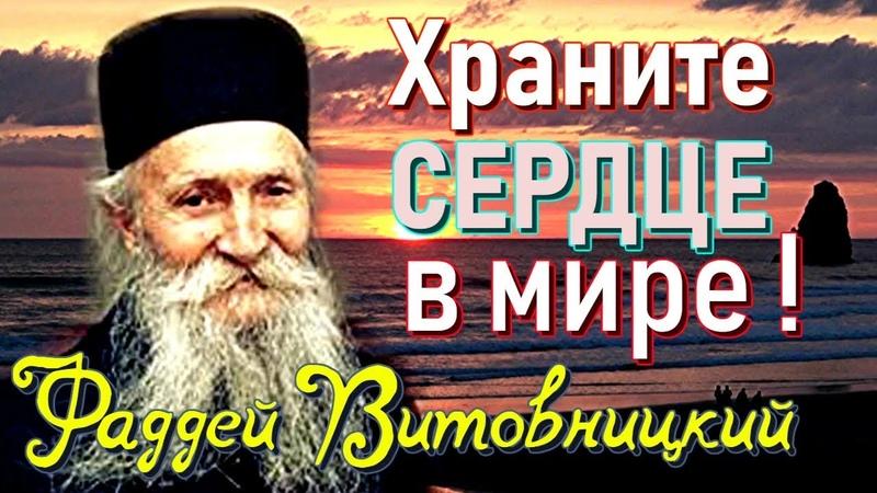 Очень МУДРЫЕ ПОУЧЕНИЯ. Витовницкий стослов - старец Фаддей Витовницкий