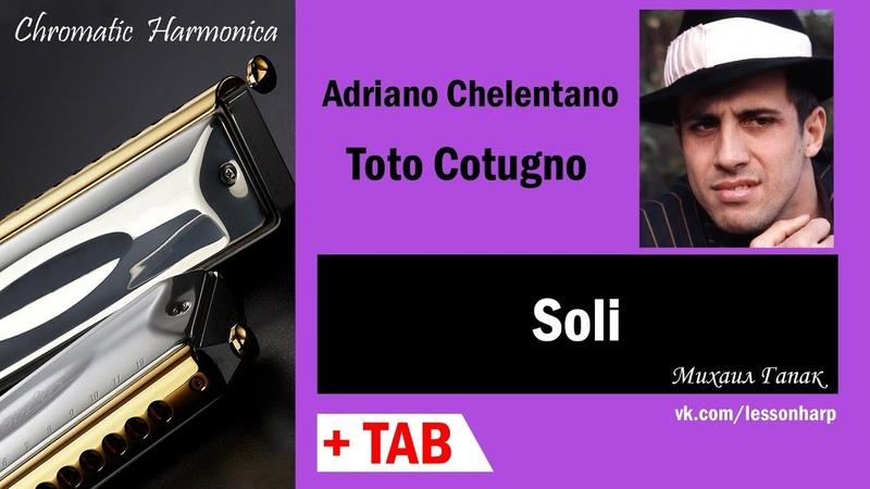 Soli - Harmonica TAB - Михаил Гапак - Hohner CX12 Jazz