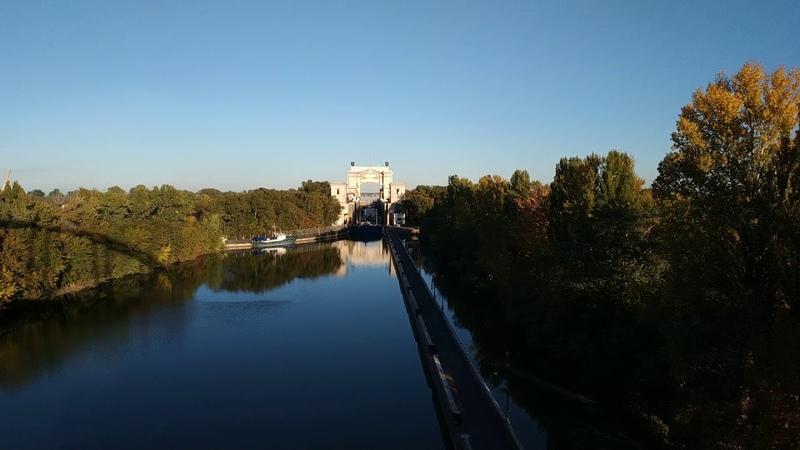 Таймлапс шлюз номер 14 волгодонского канала