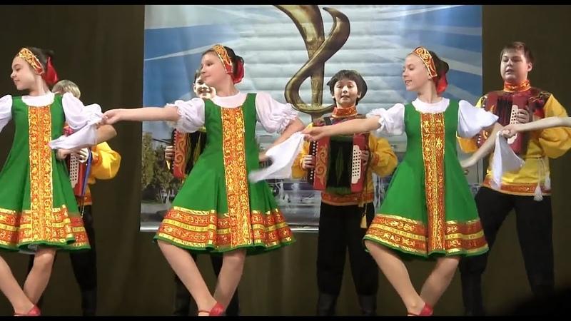 00029 Russian dance Balalaika and garmon Балалайка и гармонь Конкурс Народный Роза Ветров Дети