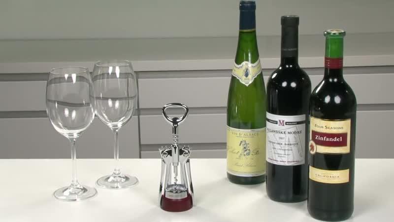Wine bottle opener with foil cutter TESCOMA PRESTO
