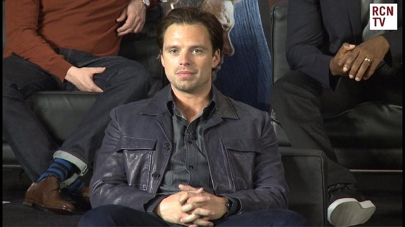 Sebastian Stan Interview - Epic Civil War Fight Scene