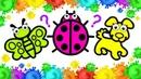 Сoloring Learn colors Drawing Animals | Учим Цвета Рисуем Животных Раскраска