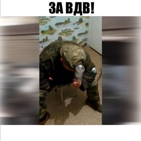 Rus criminal on Instagram ⚠️У Солдата вскочили на голове огромные шишки после того как он пытался разбить об неё бутылку Что он делал не так 😆